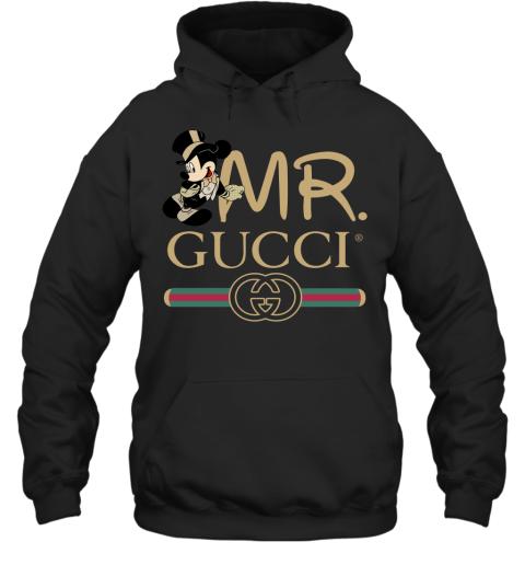 Gucci Couple Disney Mickey Valentine's Day Gift Adult Hoodie Sweatshirt