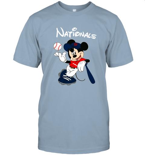n9zi baseball mickey team washington nationals jersey t shirt 60 front light blue