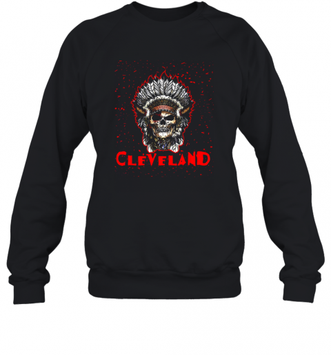 Cleveland Hometown Indian Tribe Vintage Baseball Fan Awesome Sweatshirt