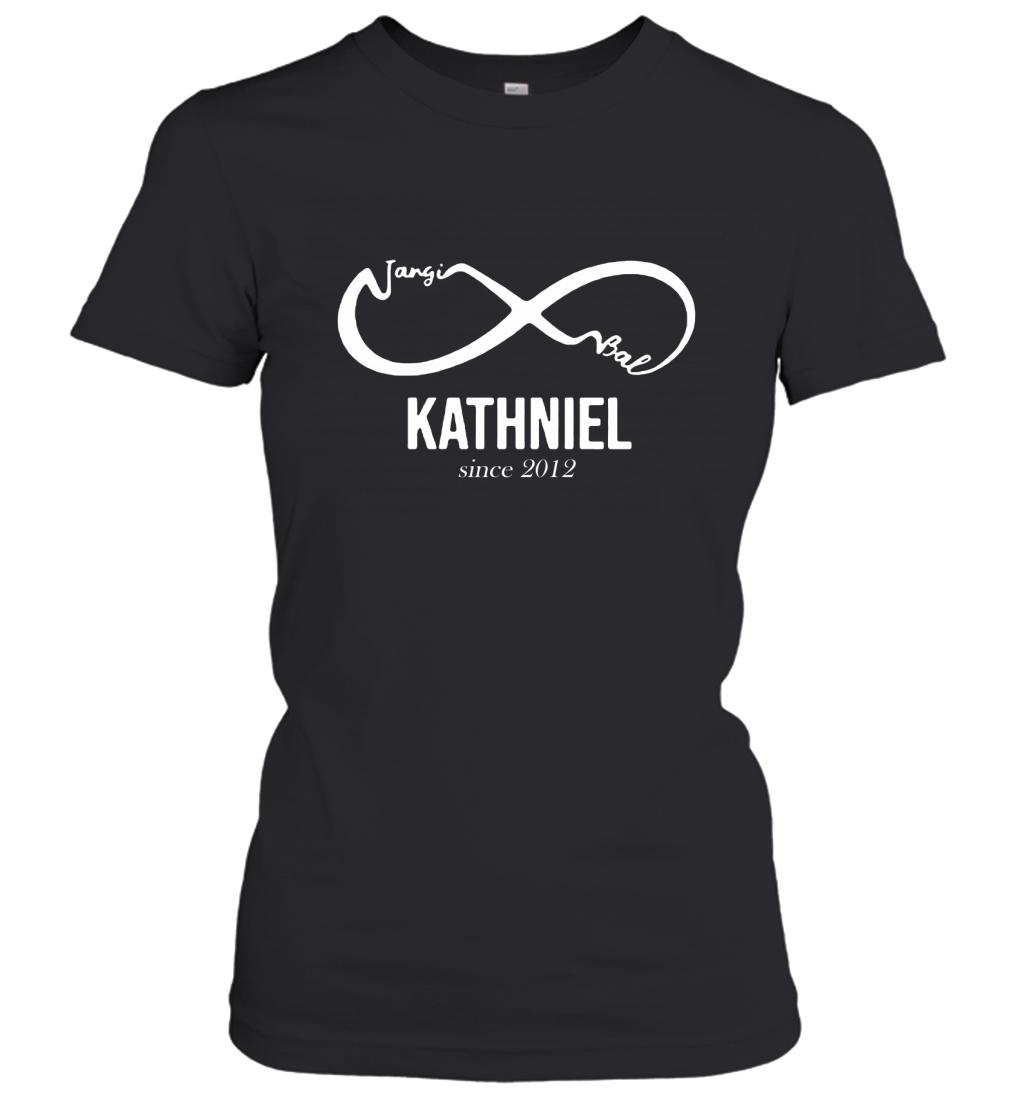 Forever Jangi Bal Nad KathNiel Since 2012 Women's T-Shirt