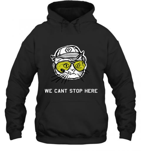 BC Cat - we cant stop here Hoodie