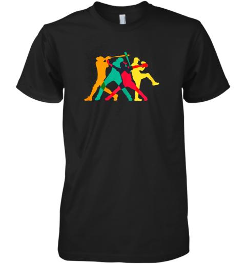 Vintage Baseball Shirt Gifts Premium Men's T-Shirt