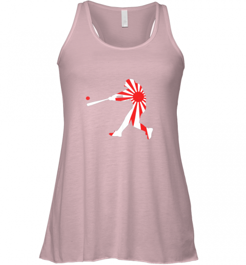 rmtx japan baseball shirt jpn batter classic nippon flag jersey flowy tank 32 front soft pink