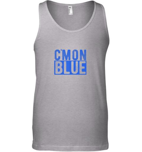 ew71 cmon blue umpire baseball fan graphic lover gift unisex tank 17 front sport grey