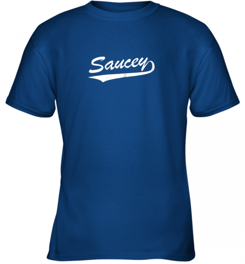 8obk saucey swag baseball youth t shirt 26 front royal