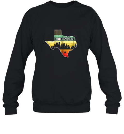 Houston Retro Baseball Shirt  Vintage Houston Baseball Sweatshirt