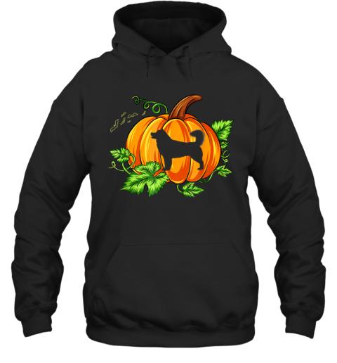 Funny Halloween Costume Alaskan Malamute Dog Pumpkin Gifts Hoodie
