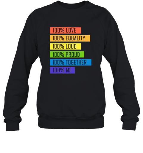 tzyp 100 love equality loud proud together 100 me lgbt sweatshirt 35 front black