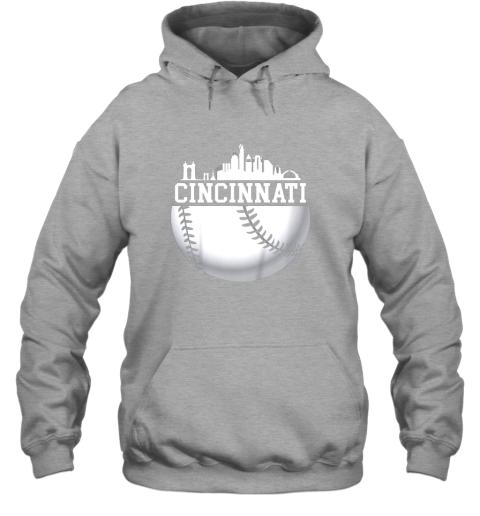 hd4y vintage downtown cincinnati shirt baseball retro ohio state hoodie 23 front sport grey