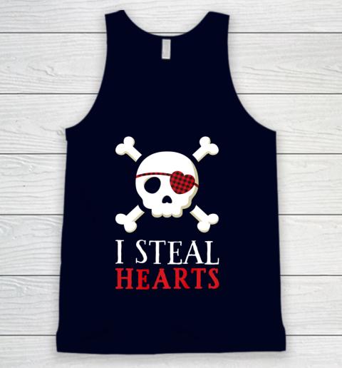 I Steal Hearts T Shirt Boy Girl Toddler Skull Valentine Gift Tank Top 2