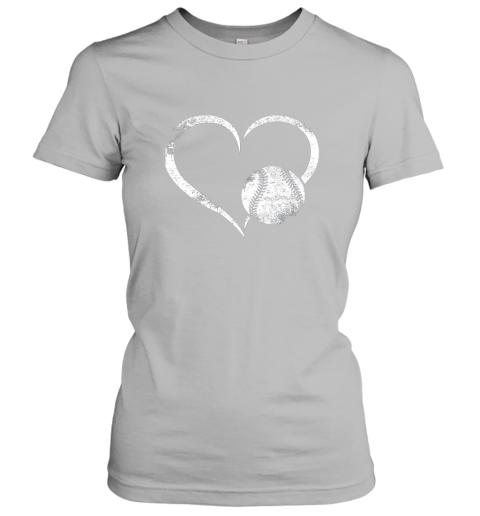 xutk i love baseballl funny baseball lover heartbeat ladies t shirt 20 front sport grey
