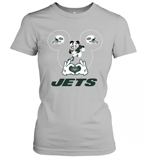 p4io i love the jets mickey mouse new york jets ladies t shirt 20 front sport grey