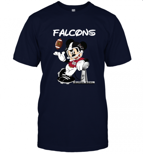 wzwj mickey falcons taking the super bowl trophy football jersey t shirt 60 front navy