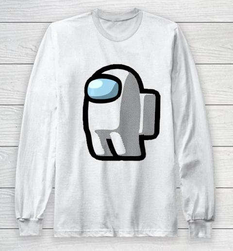 Imposter Among Gamer Us Impostor Sus Long Sleeve T-Shirt