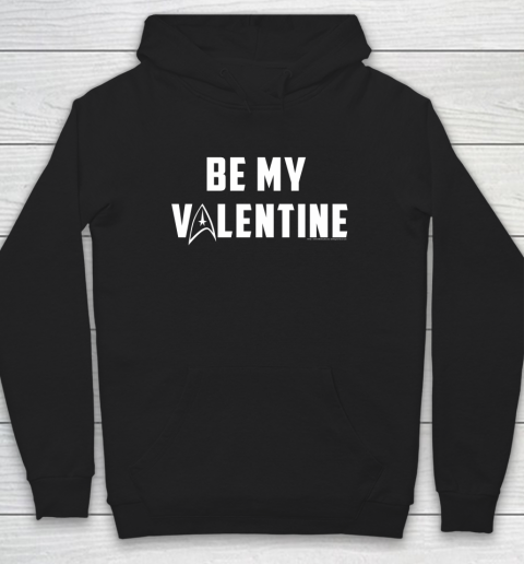 Star Trek Be My Valentine Delta Badge Graphic Hoodie