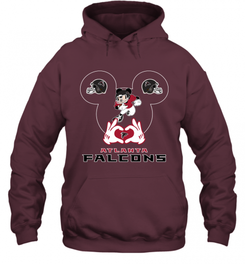zzcq i love the falcons mickey mouse atlanta falcons hoodie 23 front maroon