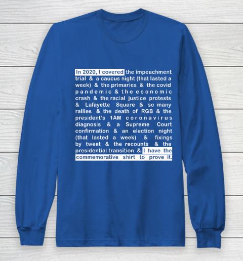 Jim Acosta Long Sleeve T-Shirt 6