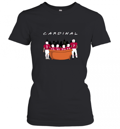 NFL Arizona Cardinals Together F.R.I.E.N.D.S Women's T-Shirt