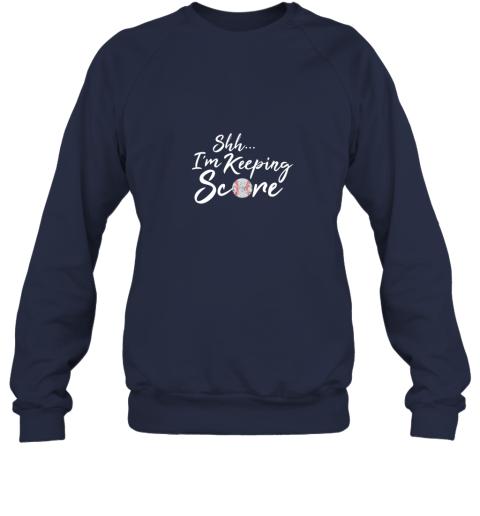 dwdy scorekeeper baseball team scorebook keeper sweatshirt 35 front navy