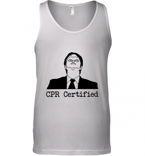 First Aid Fail CPR Certified The Office Tank Top