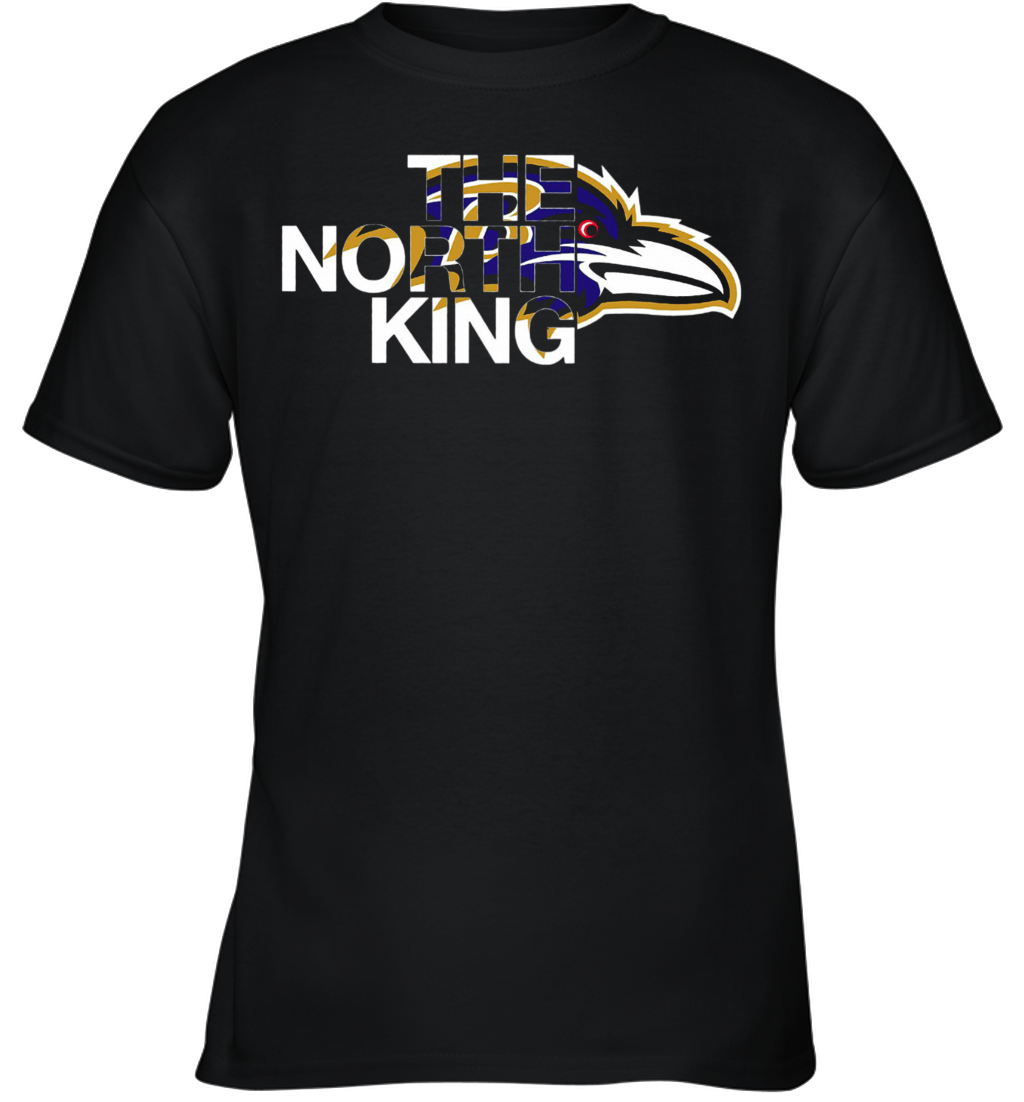 Baltimore Ravens The North King Youth T-Shirt