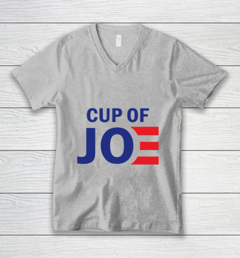 Cup Of Joe Biden V-Neck T-Shirt 5