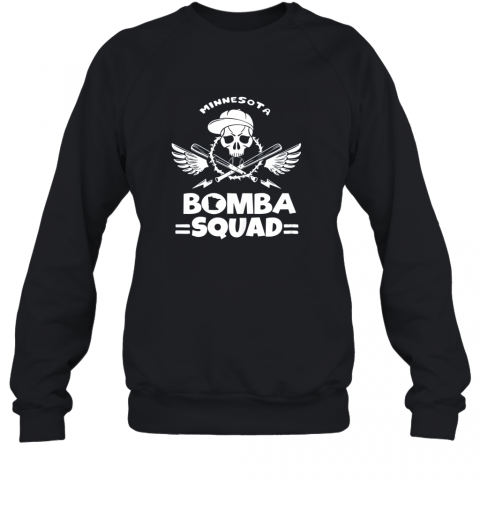 BOMBA SQUAD Twins Shirt Minnesota Baseball Men BOMBA SQUAD Sweatshirt