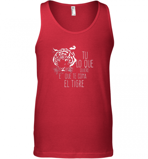 at11 tigres dominican baseball spanish espanol cool unisex tank 17 front red