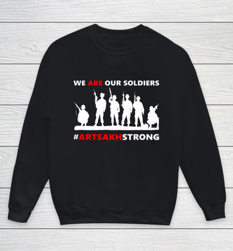 We Are Our Soldiers Youth Sweatshirt