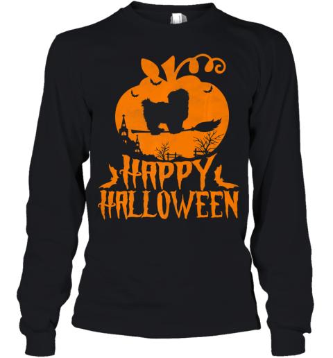 Happy Halloween Shih Tzu Costume Shirt Dog Lover Gift Premium Youth Long Sleeve
