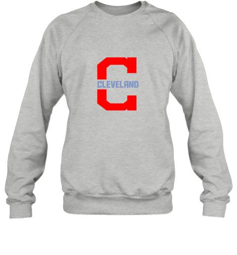 rpz5 cleveland hometown indian tribe vintage for baseball sweatshirt 35 front sport grey