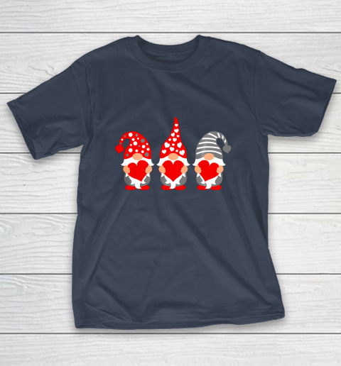 Gnomes Hearts Valentine Day Shirts For Couple T-Shirt 3