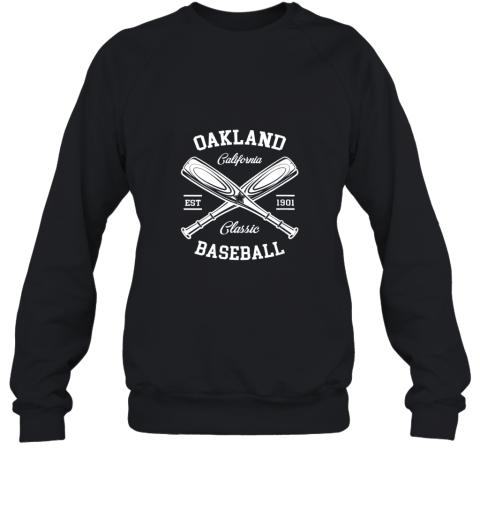 Oakland Baseball, Classic Vintage California Retro Fans Gift Sweatshirt