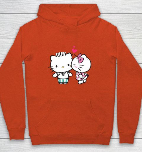 Hello Kitty and Dear Daniel Valentine Tee Youth Hoodie 3