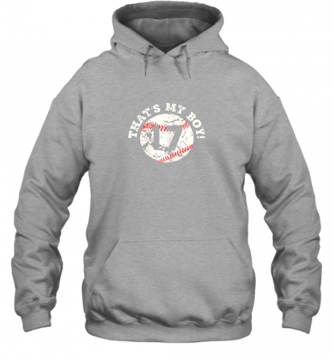 waze that39 s my boy 17 baseball player mom or dad gift hoodie 23 front sport grey