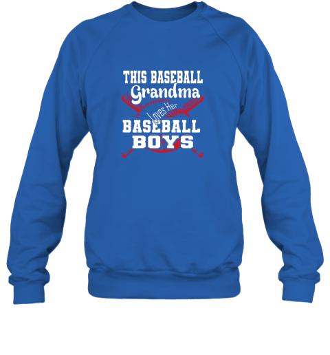 3szm this baseball grandma loves her baseball boys sweatshirt 35 front royal