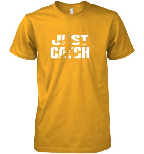 0iqs just catch baseball catchers long sleeve shirt baseballisms premium guys tee 5 front gold