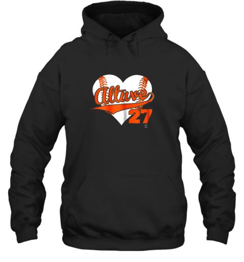 Jose Altuve Baseball Heart Shirt  Apparel Hoodie