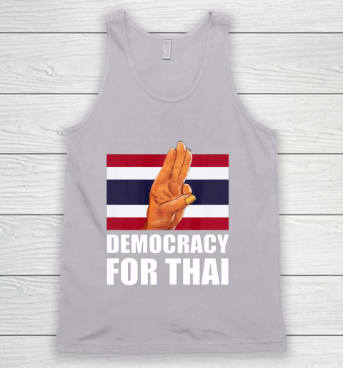 Democracy for Thailand Free Thai Protest Bangkok Support Tank Top 3