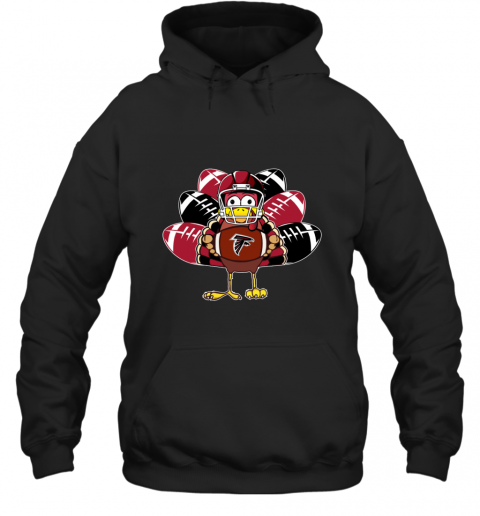 Atlanta Falcons Thanksgiving Turkey Football NFL Hoodie