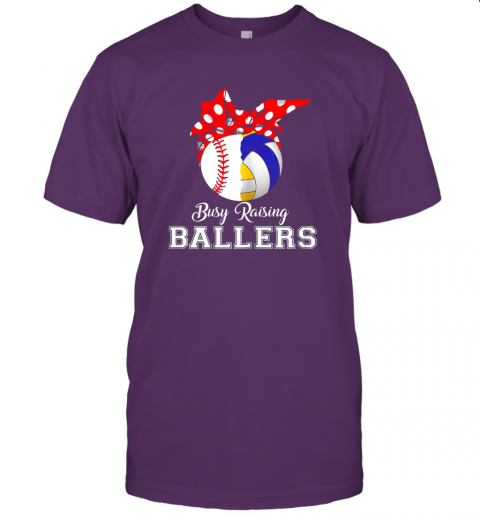 o052 baseball volleyball busy raising ballers shirt mothers day jersey t shirt 60 front team purple