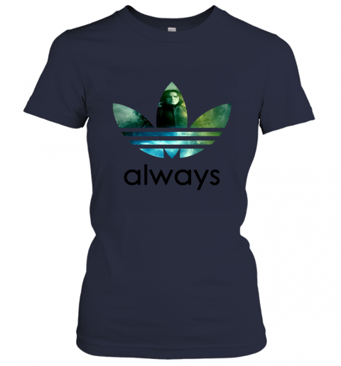 x4vk adidas severus snape always harry potter shirts ladies t shirt 20 front navy