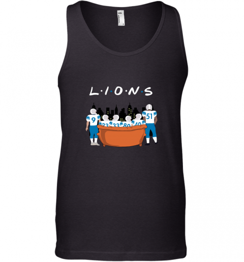 The Detroit Lions Together F.R.I.E.N.D.S NFL Tank Top