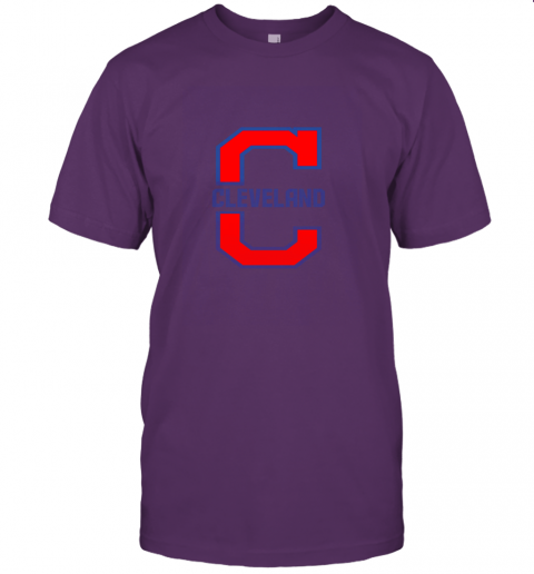 j8zq cleveland hometown indian tribe vintage for baseball fans jersey t shirt 60 front team purple