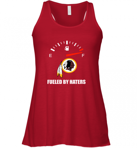 yozt fueled by haters maximum fuel washington redskins flowy tank 32 front red