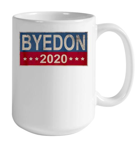 Bye Don 2020 ByeDon Button Joe Biden Funny Anti Trump Color Changing Mug 15oz 2