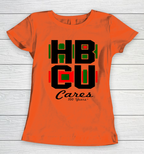 HBCU Cares College University Graduation Gift Black School Women's T-Shirt 2