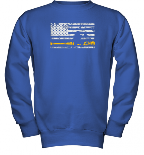 d8bq softball catcher shirts baseball catcher american flag youth sweatshirt 47 front royal