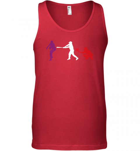 karx baseball usa flag american tradition spirit unisex tank 17 front red