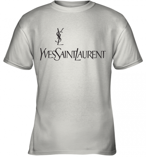 Ysl Yves Saint Laurent Logo Youth T-Shirt